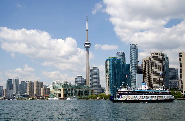 Toronto: Island Ferry