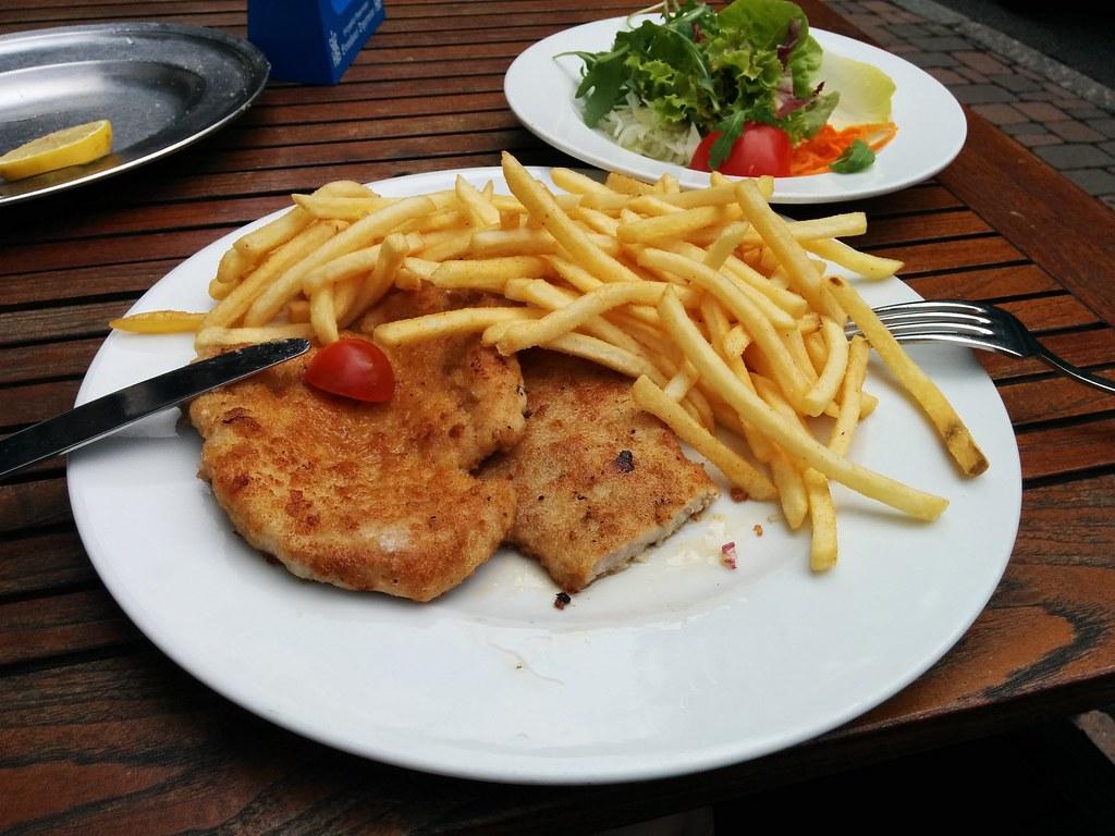 Schnitzel in Schwarzwald
