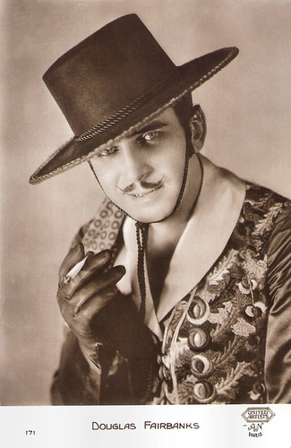 Douglas Fairbanks in Don Q Son of Zorro (1925)