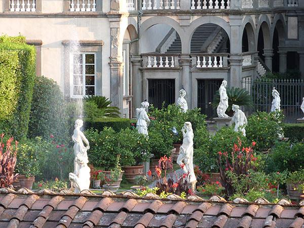 jardins du Palazzo Pfanner