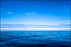 Blue.  Biscay Bay by Claire Pismont