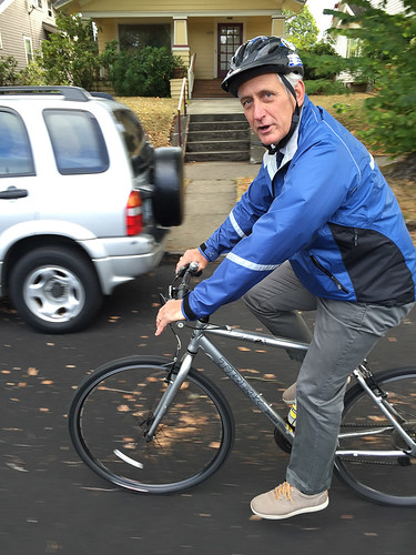 Mayor Hales' first bike commute-7.jpg
