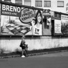 Canon EOS 30 with Canon EF 50mm f/1,8 II - Mother and Child under Billboard by Kojotisko