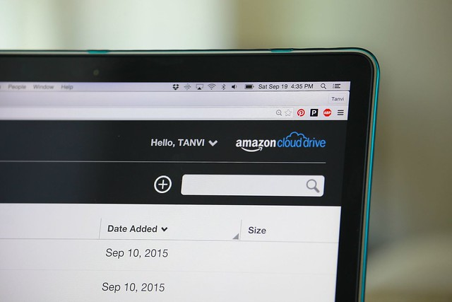 Cloud Storage, Amazon Prime, Tanvii.com, Organize Blog Content