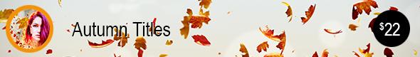 Autumn Ttiles