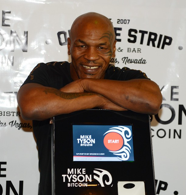 Mike Tyson Bitcoin ATM Launch