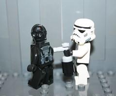 Lego Star Wars Vandalism