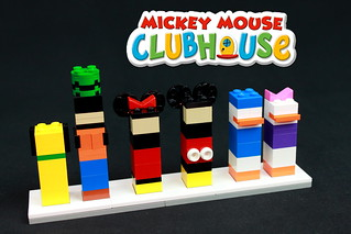 Brick Buddies- Mickey Mouse Clubhouse