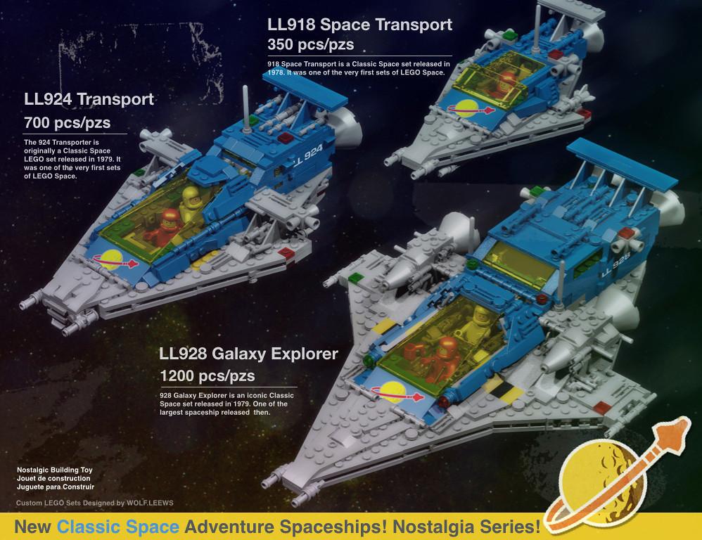 Classic Space Nostalgic Rebuild
