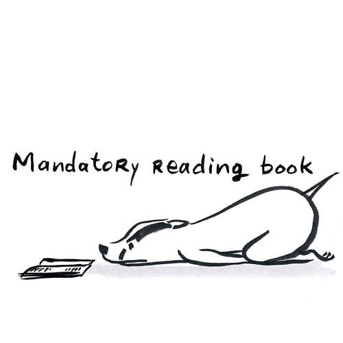 Mandatory #inktober #inktober2015 #badger #badgerlog #reading