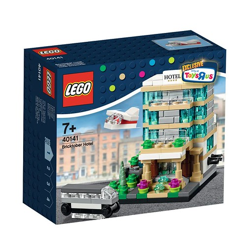 LEGO Bricktober Hotel 40141 Box