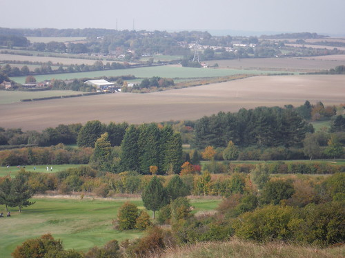 View from Warden Hill towards Streatley