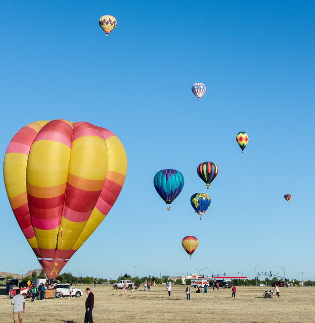 Balloon Festival at Prescott Valley 1