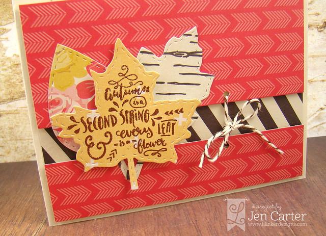 Jen Carter Autumn Leaves Closeup 1