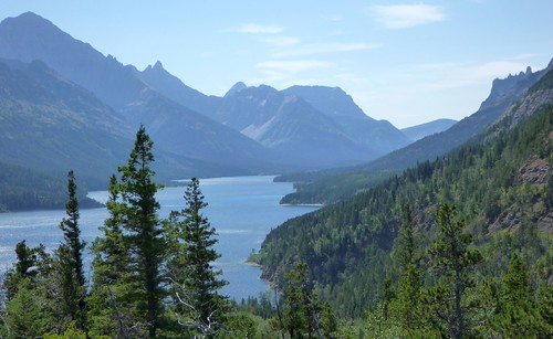View of Upper Waterton Lake