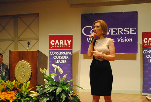 Spartanburg Area Chamber of Commerce's Women in Business Conference, presented by Denny's and featuring Carly Fiorina