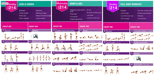Kayla itsines week 4