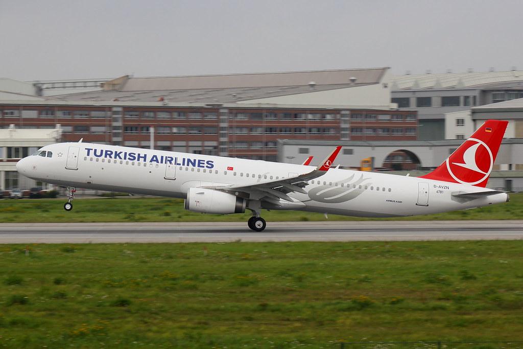 TC-JTA - A321 - Turkish Airlines