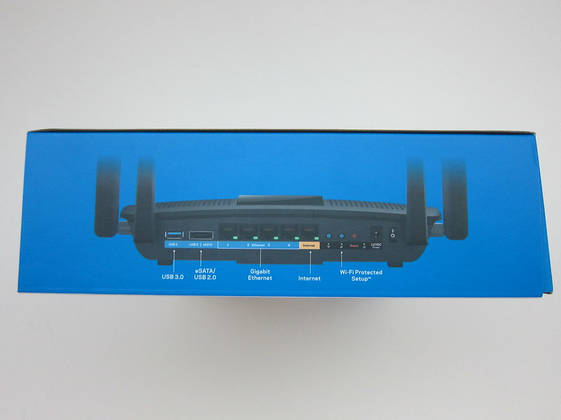 Linksys EA8500 - Box Left