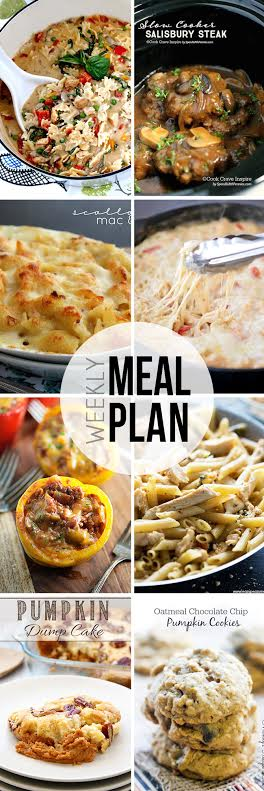 Collaborative weekly meal planning. 9 bloggers. 6 dinner ideas, one weekend breakfast plus 2 desserts every single week equals one heck of a delicious menu! week 15.