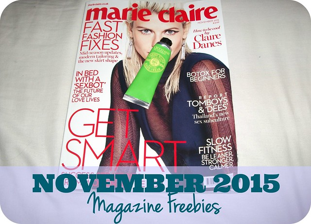 November 2015 UK Magazine Freebies