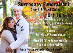 We have NEWS! We will be starting the SURROGACY process soon and we need your help! Please spread the word, send positive thoughts, pray & stop by our fundraiser! This is the first of many fundraisers we will be doing so help us get off to a good start! I