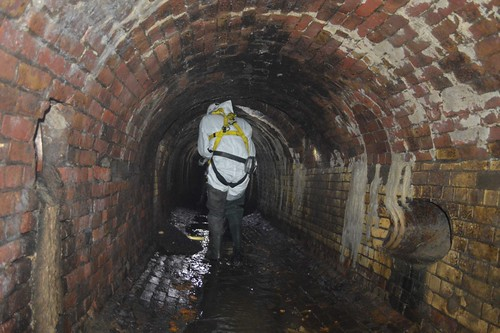 Exploring the sewer
