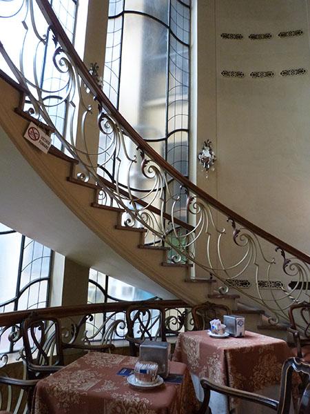 escalier caffè torino