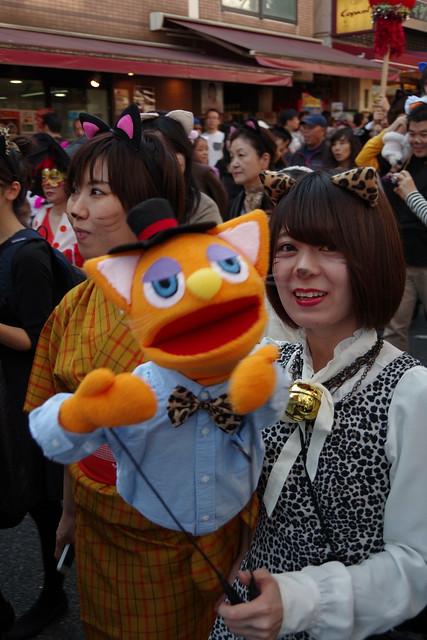 Cat's Halloween Parade in Kagurazaka 2015 07