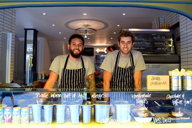 The Team at Little Joe's Deli, Canterbury | www.rachelphipps.com @rachelphipps