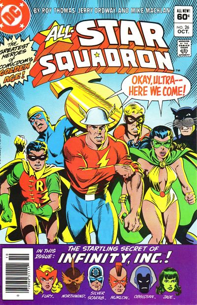 All-Star Squadron 26, Cover
