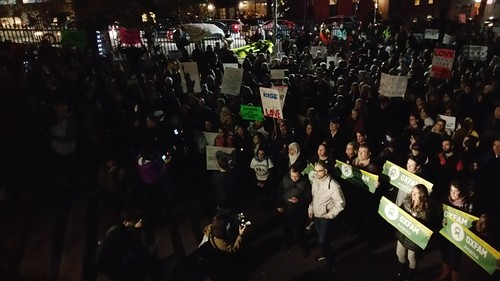 Rally to protest Baker's opposition to accepting Syrian refugees