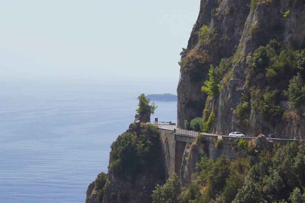 Amalfi coastal road, VSCOcam