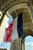"""""""Je suis Paris. Vous etes Paris. Nous sommes Paris."""" Arc de Triomphe, Paris, from our trip in Europe last summer"""