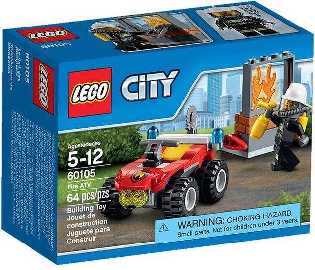 LEGO City 2016: 60105 - Fire ATV