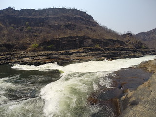 White water Rafting on the Zambezi.