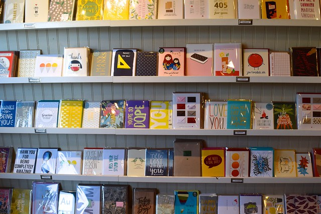 Greeting Cards at Urbanic Paper Boutique, Los Angeles | www.rachelphipps.com @rachelphipps