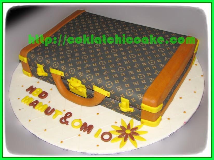 Cake Koper Louis Vuitton