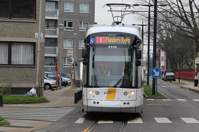 Flexity 2 6356, Begijnhoflaan, Ghent
