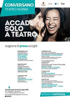 Conversano- cartellone teatrale 2015-2016