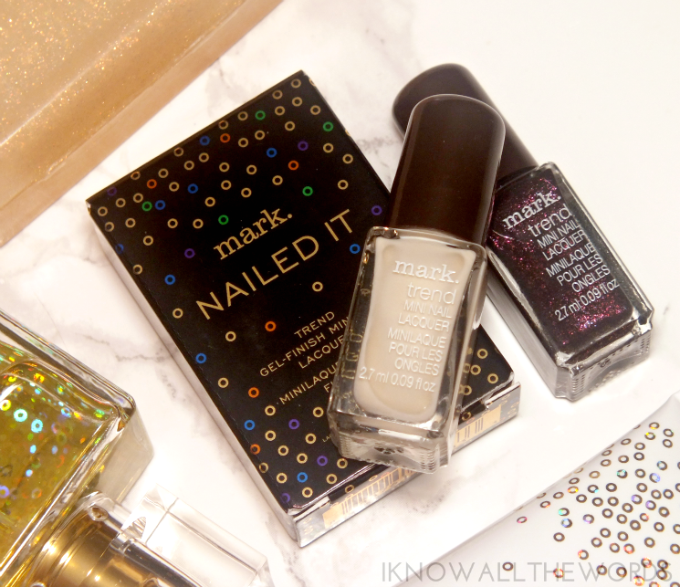mark nailed it trend mini gel effect nail lacquer- eggnog & sugarplum (1)