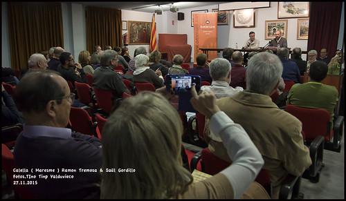 Presentació del llibre de Ramon Tremosa a Calella