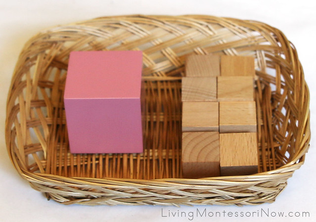 How to prepare montessori sensorial extensions with for Extension cube