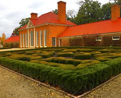 Greenhouse and gardens -- Mount Vernon Alexandria (VA) November 2016