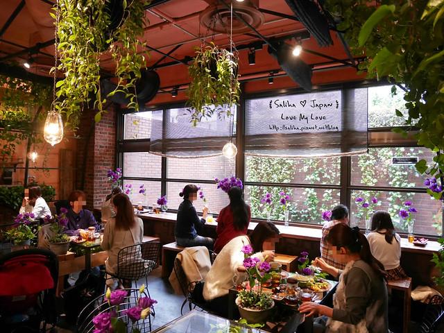 日本東京表參道花店咖啡館Aoyama Flower Market Tea House青山店  (10)