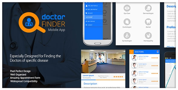 Online Doctor Finder Mobile App