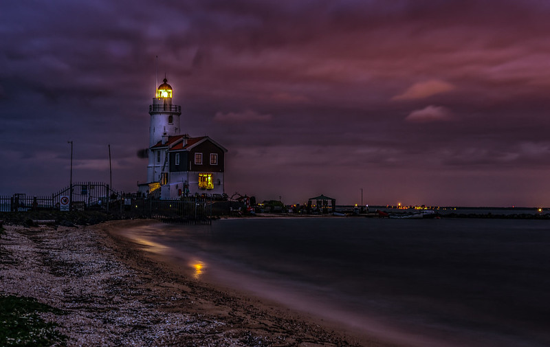 Lighthouse at Night (Explored 16-12-2016)