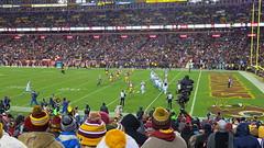 NFL: Carolina Panthers 26 vs 15 Washington Redskins. FedExField, MD. Dec 19, 2016