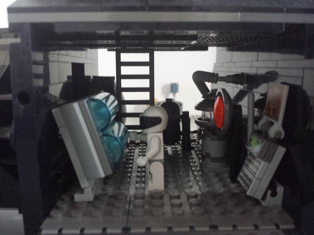n engine room