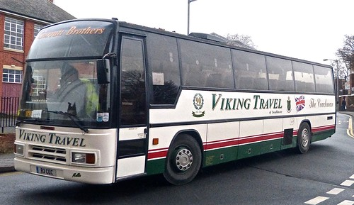 B3 CEC 'Viking Travel' Dennis Javelin / Plaxton Paramount on 'Dennis Basford's railsroadsrunways.blogspot.co.uk'